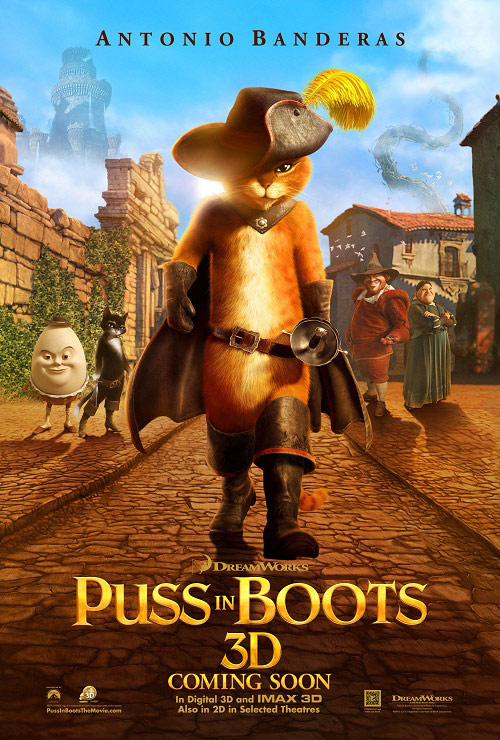 new puss in boots new poster