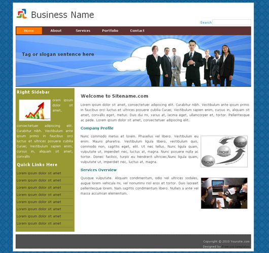 Free Business Template 6