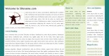 Free css web template - Greentint
