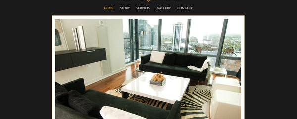 Create interior design website free