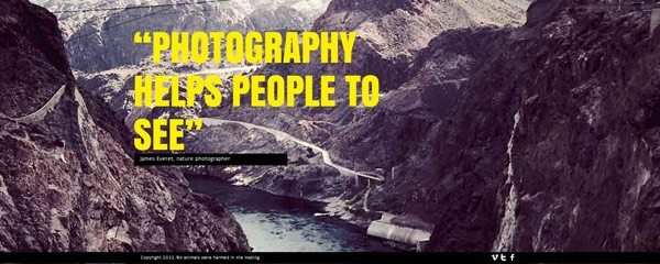 Create free photography website