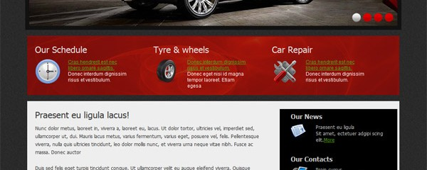 Car Repair &#8211; Free CSS/HTML template