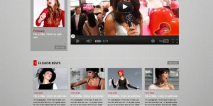 Create Free Fashion Lifestyle website
