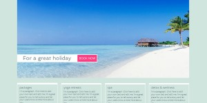 Make Free spa resort website