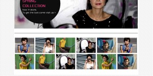 Create Free Fashion Collection website