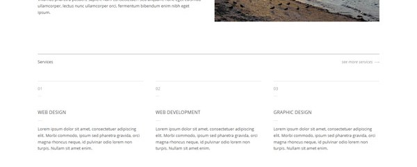 Designa &#8211; Fully responsive minimalist portfolio template