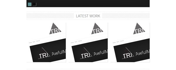 Tri &#8211; Responsive Portfolio html5 template