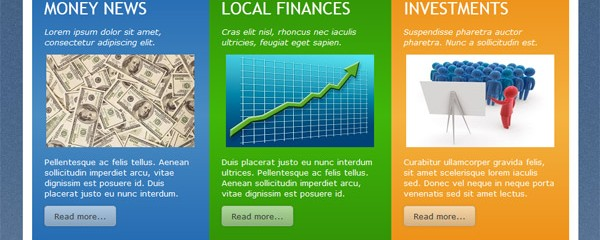 Finance tips &#8211; Free responsive html5 template