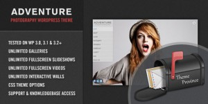 Adventure &#8211; A Unique Photography WordPress Theme