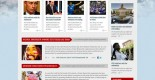 News and Politics Free PSD Web Template