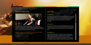 Company portfolio business css template
