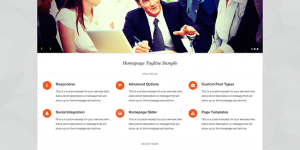 Pytheas free business wordpress theme